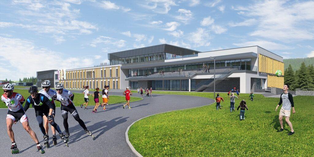 Dolnośląskiego Centrum Sportu na Polanie Jakuszyckiej